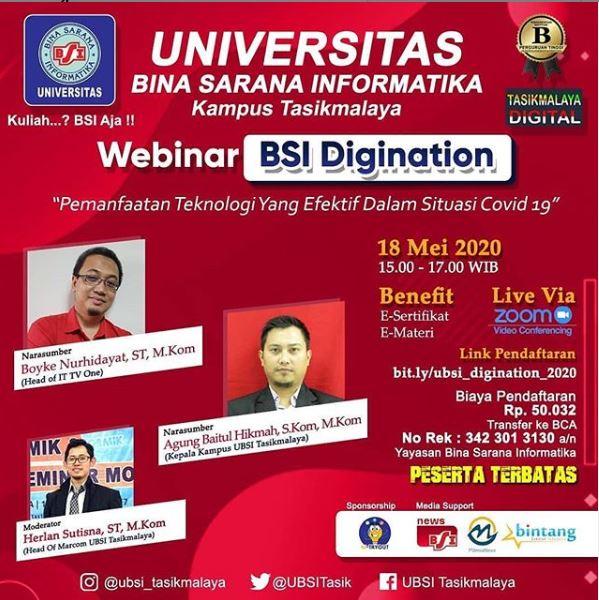 Webinar UBSI
