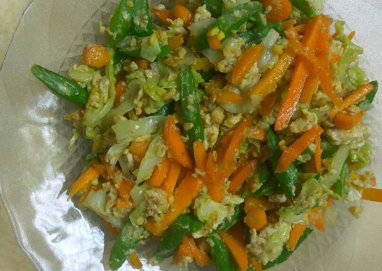 orak arik sayuran 3