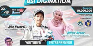 Tips Menjadi Seorang Youtuber dan Entrepreneur - Garasi Drift & Ordeture