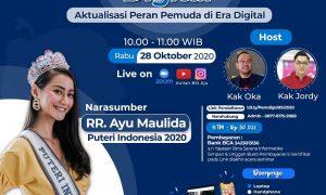 Sambut Sumpah Pemuda, UBSI Bersama Puteri Indonesia Gelar Webinar