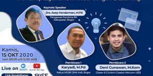 MGBK SMK Kab. Bogor Akan Gelar Webinar & Workshop, Psikososia dan Layanan BK Kreatif dengan e-learning