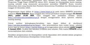 Cek Kuota SNMPTN 2021