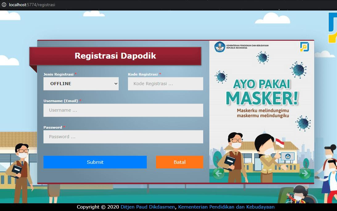 aplikasi dapodik 2021 c browser
