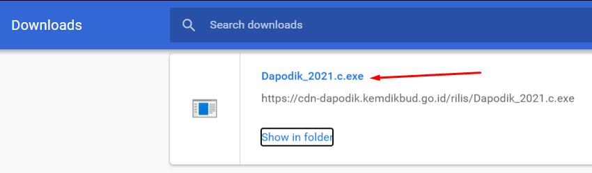 download dapodik 2021 c