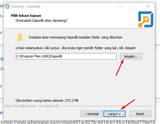 folder penyimpanan aplikasi dapodik 2021 c