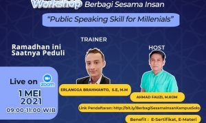 Kampus UBSI Solo Akan Gelar Workshop Gratis Public Speaking