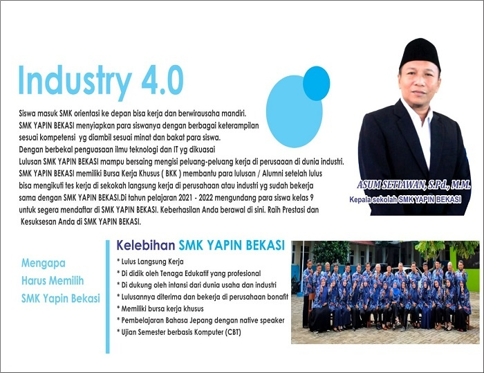 PPDB SMK Yapin Bekasi TA 2021-2022