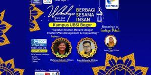 UBSI Bogor Berbagi